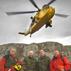 Royal Air Force SAR Force Commander changeover