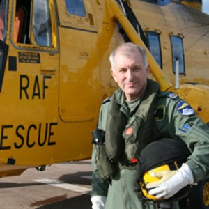 RAF Boulmer Airman Clocks up 10,000 Sea King Hours