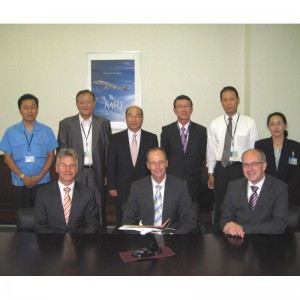 Mitsubishi awards Regional Jet contract to Eurocopter