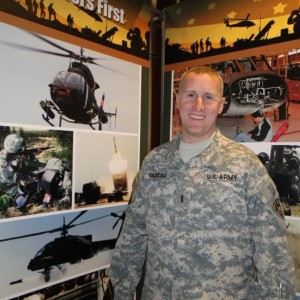 Soldier deploys to Iraq to help field laser defense system for Chinook helicopters
