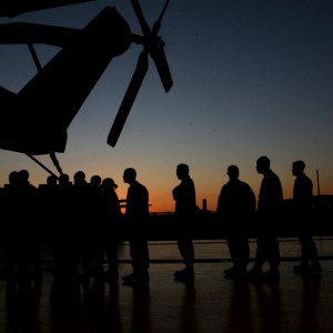 Cherry Point heavy helicopter squadron departs for Djibouti