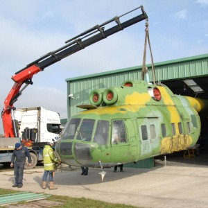 UK's Helicopter Museum takes delivery of Mi-8 from Poland