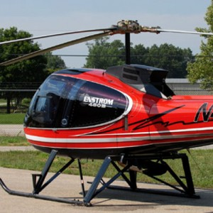Dean Louck's Enstrom design to feature at Heli-Expo 2010