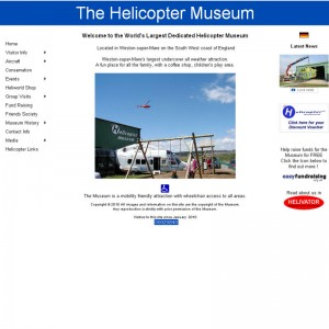 UK's Helicopter Museum to add 360 degree virtual tours to website