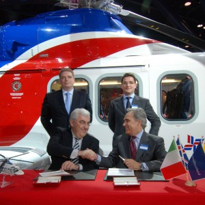 AgustaWestland And Grupo INAER Sign MoU For Training Services