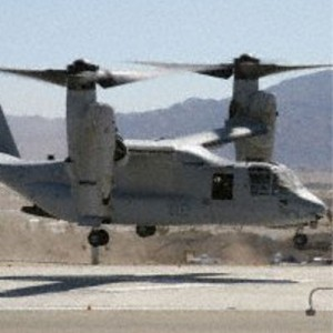 Osprey Landing at Naval Hospital Provides New Life-saving Option