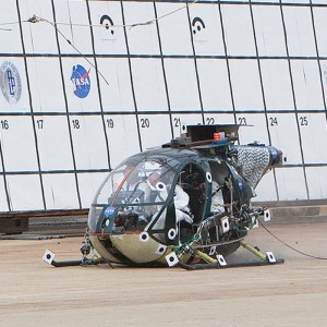 "Second NASA controlled helicopter crash ""successful"""
