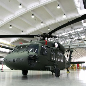 "First S-70iâ""¢ Helicopter Fully Assembled at Sikorsky Facility in Poland"