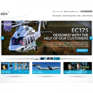 New EADS website goes online
