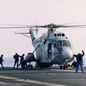Super Frelon – final day in service today