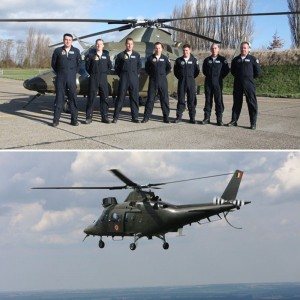 Belgium releases details of A109 display team for 2010