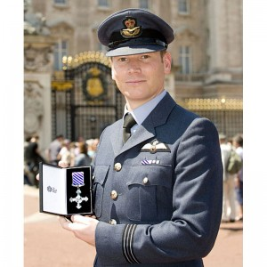 RAF Chinook pilot honoured for courage in Afghanistan