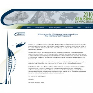 2010 International Sea King Maintenance Symposium website now online