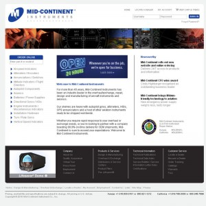 Mid-Continent Instruments adds online ordering to website