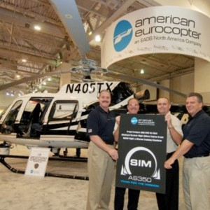 American Eurocopter's AS350 Simulator Chosen for ALEA's Advanced Tactical Flight Officer Course