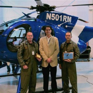MD Helicopters delivers MD500E to Pasadena Police