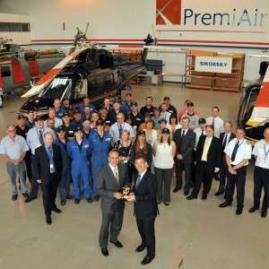 Sikorsky thanks PremiAir for 30 years support