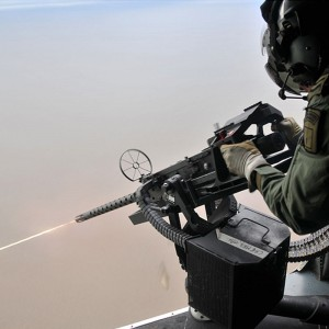 British Commando Helicopter Force get to grips with new gun