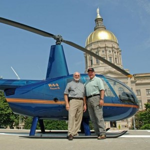 Sitting US Governor achieves new helicopter milestones