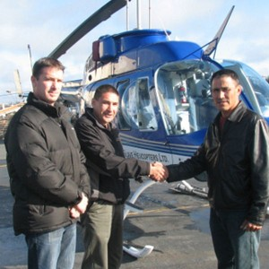 Great Slave Helicopters welcomes new aboriginal partnership K'ahsho Got'ine Helicopters