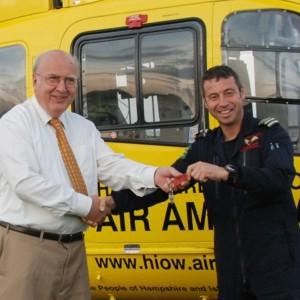 Hampshire & Isle of Wight Air Ambulance welcomes EC135