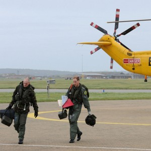 Prince William completes his first SAR shift