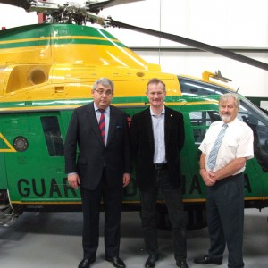 UK's Helicopter Museum adds A109 from Italy's Guardia di Finanza