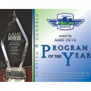AirLife Denver wins AAMS Air Medical Program of the Year