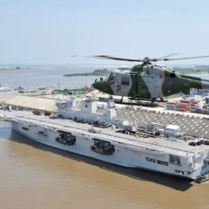 UK's 847 Naval Air Squadron helping to train Nigeria Armed Forces