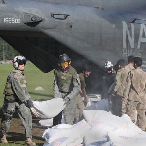 US Navy unit in Bahrain provides critical support for Pakistan relief