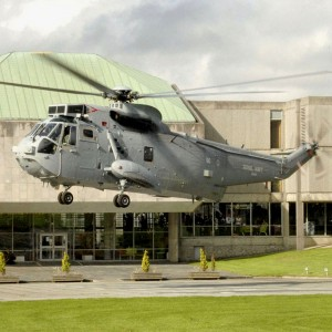Cornwall Council honours naval helicopter crews for work in Helmand Province