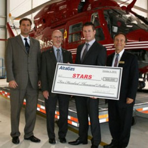 AltaGas logo unveiled on STARS helicopters