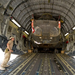 Australian Chinooks escape Afghanistan winter