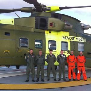 1,000th landing in 3 years on Danish hospital rooftop helipad