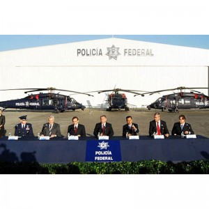 Mexican Federal Police take delivery of three UH-60Ms