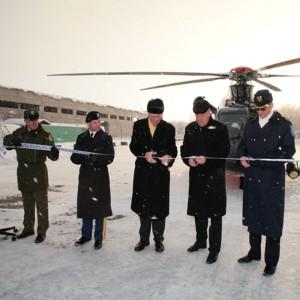 US funds refurbishment of two helipads in Estonia