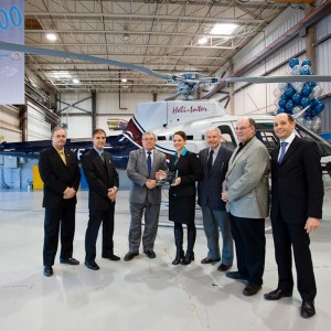 Eurocopter Canada delivers 600th helicopter to local market