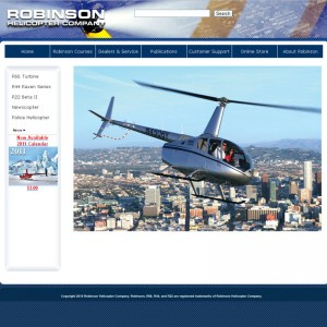 Robinson cuts corners with new-look website