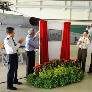 Singapore inaugurates Seahawks into 123 Squadron
