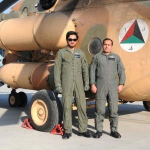 First US trained Afghan pilots begin Mi-17 qualification course