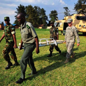 CJTF-HOA presents flight medic seminar to Rwanda Defense Force