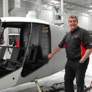 First Robinson R66 arrives in Europe