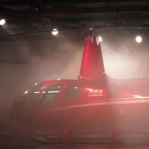 Smoke, Lights, Music – HeliAir launch Europe's first R66