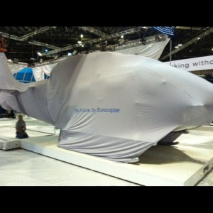 Eurocopter have mystery wrapped up at Heli-Expo 2011