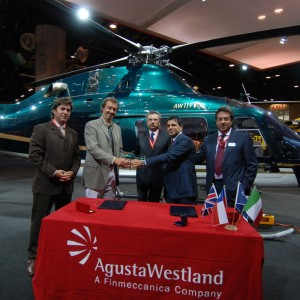 Firefly SpA of Chile takes delivery of an AW119Ke