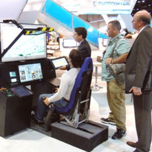 American Eurocopter's AS350B3 procedural trainer makes its debut at Heli-Expo 2011