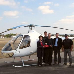 First Cabri G2 delivered into Switzerland