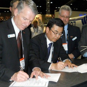 Enstrom signs purchase agreement for second JGSDF helicopter