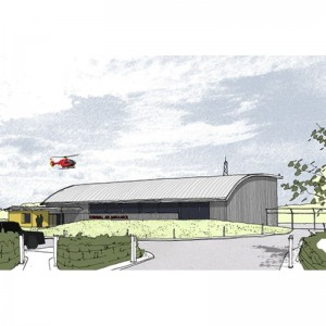Cornwall Air Ambulance awarded £1 million for new base