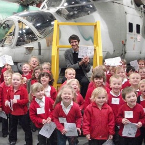 Helicopter Museum Launches children's comic